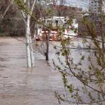 crecida del rio en abril